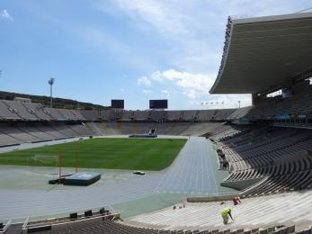 The 1992 Olympic Stadium