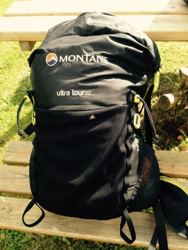 My trusty 22 litre rucksack- I take this everywhere! It is big enough and small enough at the same time
