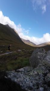Lairig Ghru route, Scotland