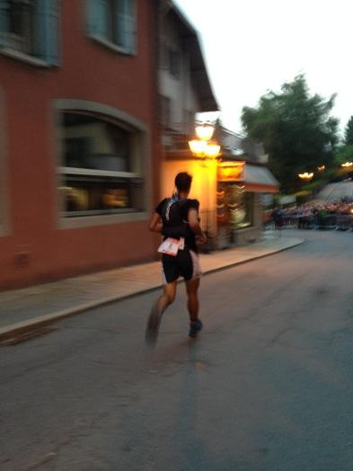The greatest mountain runner of all time- Kilian Jornet whizzes past
