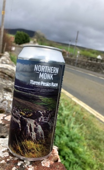 Northern Monk Three Peaks beer- is there a better combo?