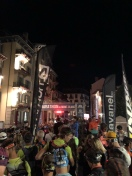 4am in Chamonix town centre ready for the start